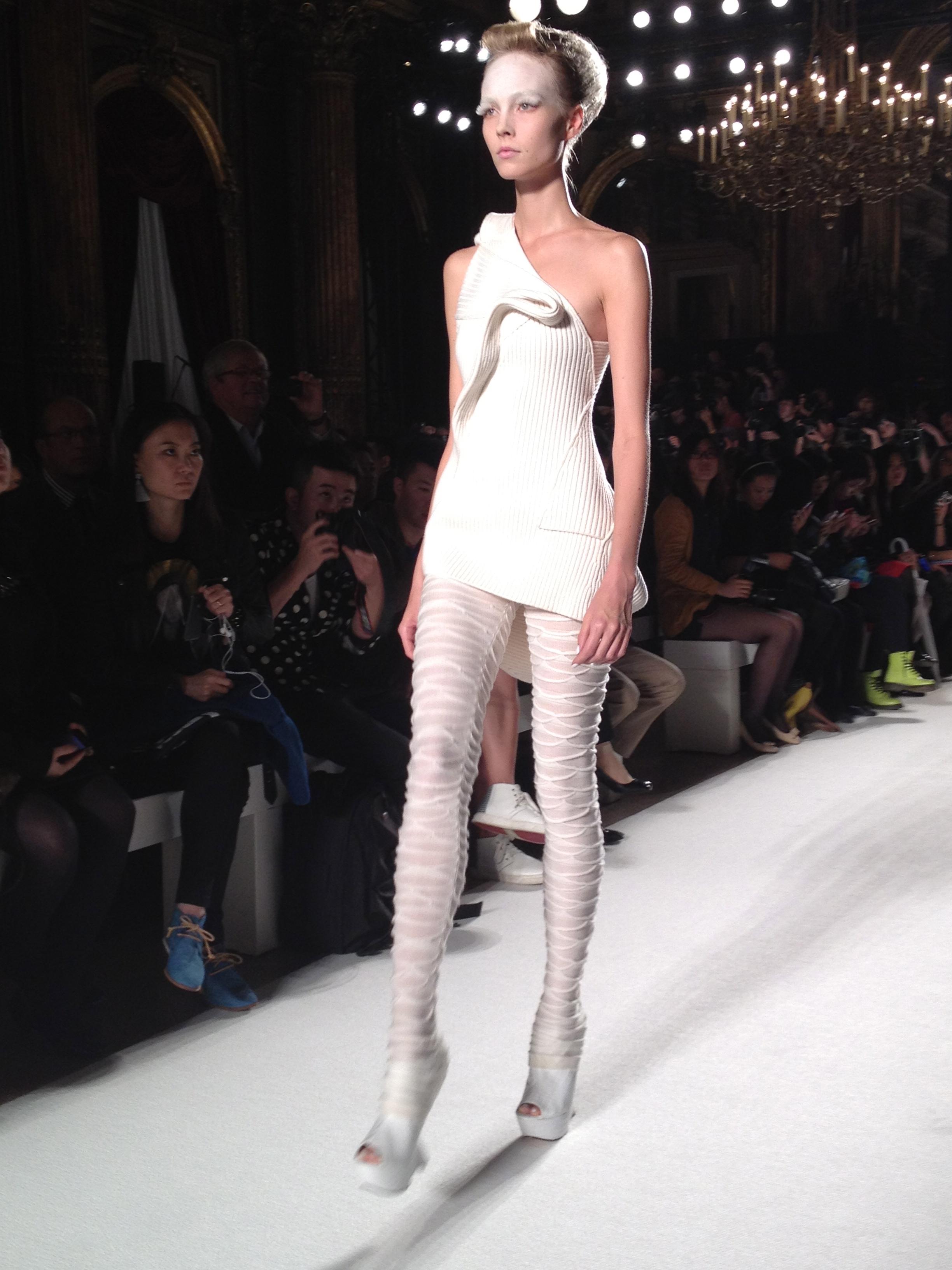 Liu Fang SS13: Sculpted Cashmere