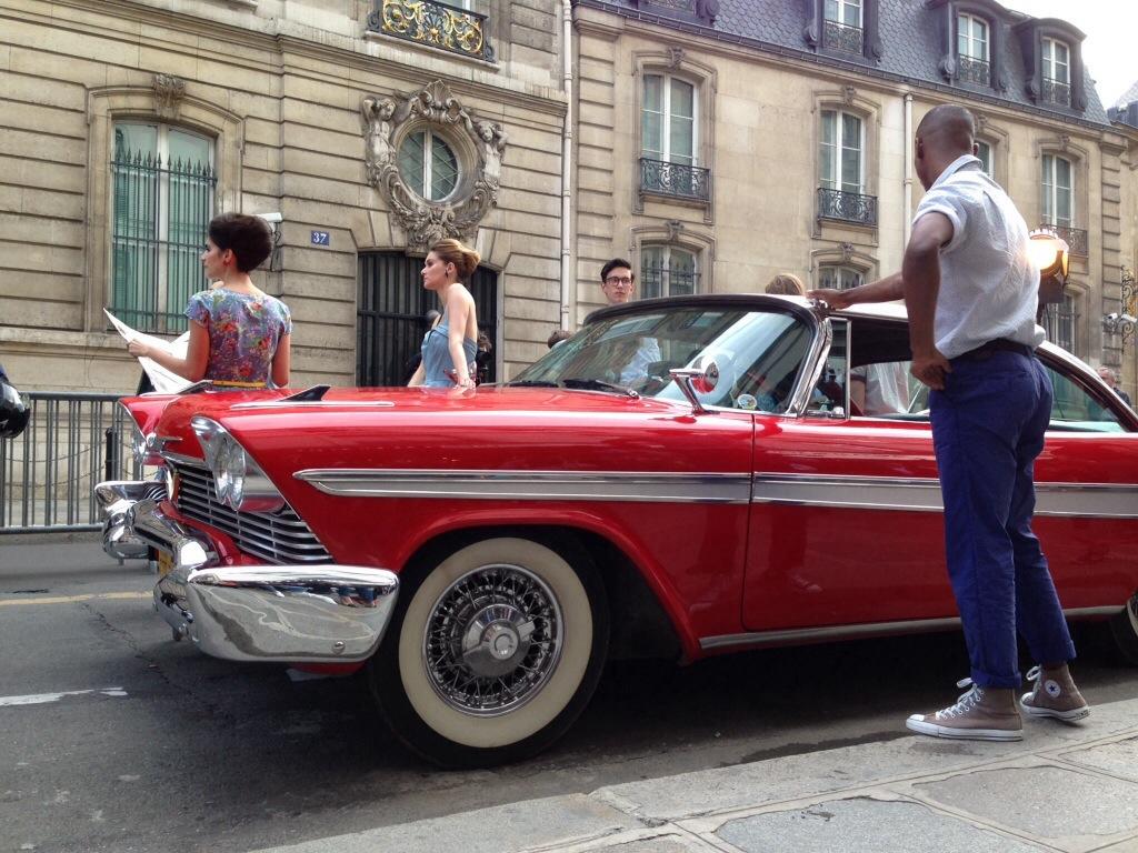 Summertime Soirée on the Faubourg Saint Honoré