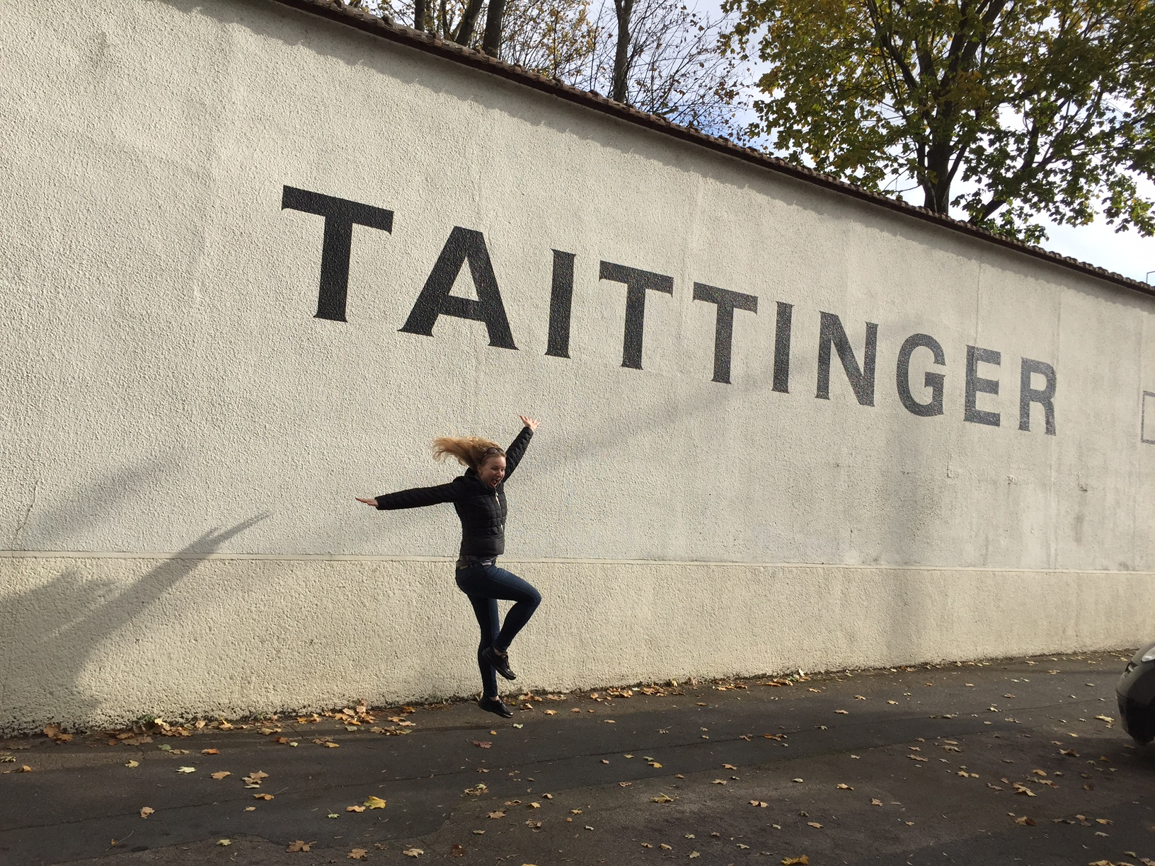 The Taittinger Champagne Caves