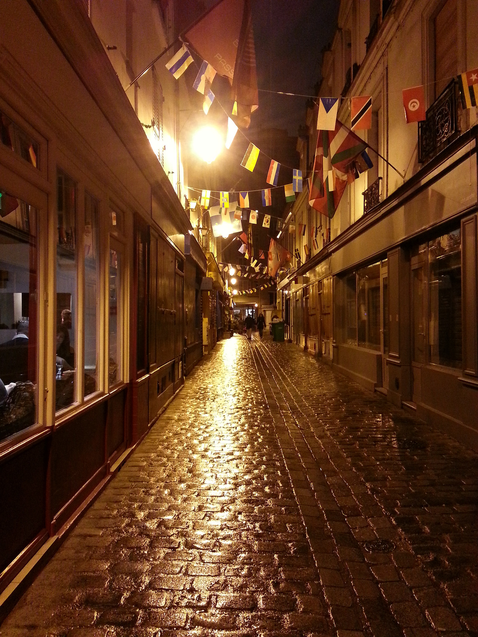 Passage Geoffroy Didelot 75017 Paris